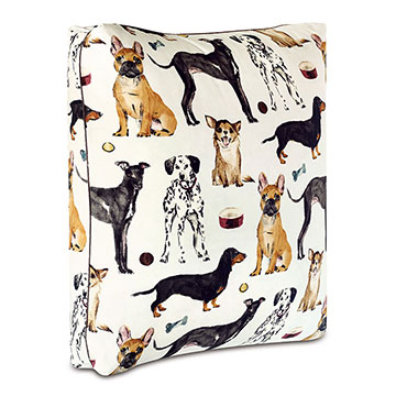 Tompkins Dog Print Floor Pillow