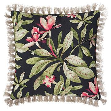 Kamehameha Fringe Decorative Pillow