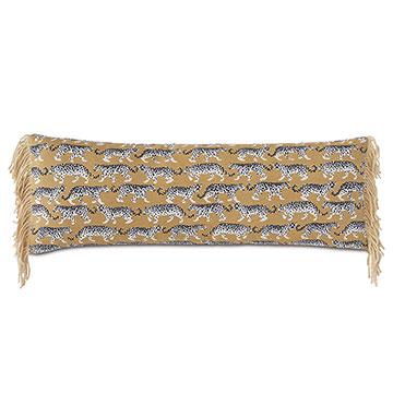 Prowling Fringe Decorative Pillow