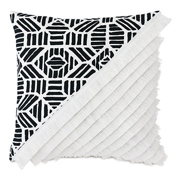 Madaba Colorblock Decorative Pillow (Right)