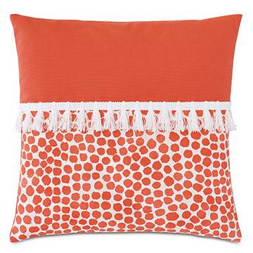 Toodles Fringe Decorative Pillow