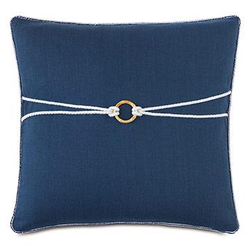 Isle Bamboo Knot Decorative Pillow