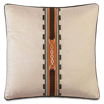 Morvich Buckle Decorative Pillow