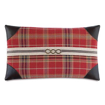 Aspen Buckle Decorative Pillow