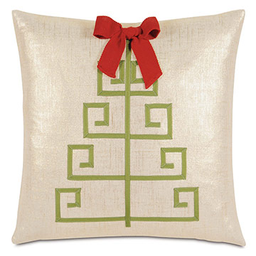 Lilly Tree Decorative Pillow
