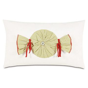 Candy Applique Decorative Pillow