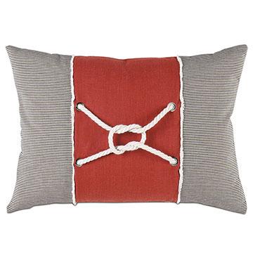 Isle Square Knot Decorative Pillow