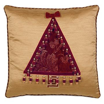 Noel Tree Decorative Pillow