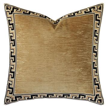 Park Avenue Greek Key Decorative Pillow