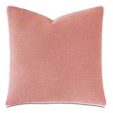 St Barths Mini Fringe Decorative Pillow