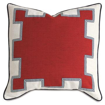Kanzan Crimson With Graphic Design