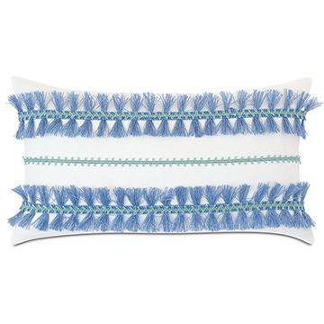Castaway Trim Application Decorative Pillow