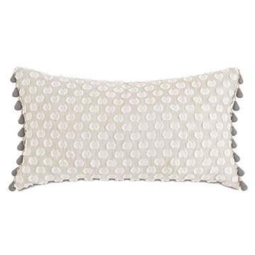 Felicity Beaded Trim Decorative Pillow