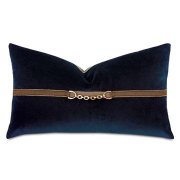 Steeplechaser Horizontal Buckle Decorative Pillow