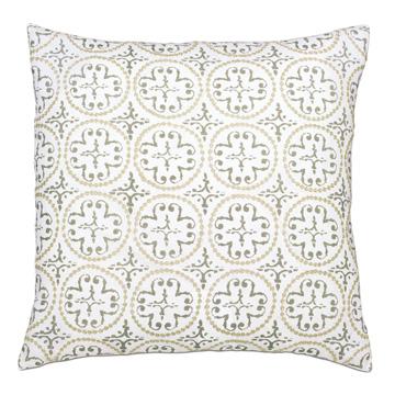 Lightcap Medallion Decorative Pillow In Oatmeal