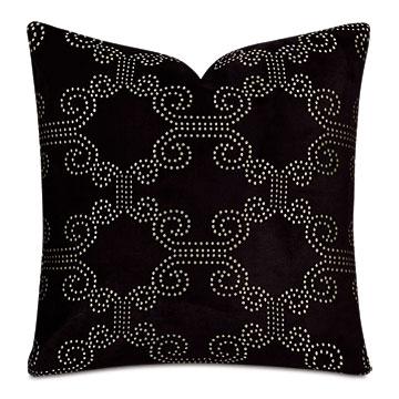 Elton Onyx Decorative Pillow