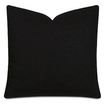 Vincent Textured Decorative Pillow In Carbon