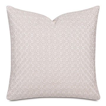Elsie Embroidered Decorative Pillow