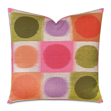 Flossie Abstract Decorative Pillow