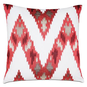 Nardo Crimson Decorative Pillow