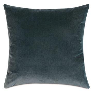 Plush Velvet Decorative Pillow In Ocean