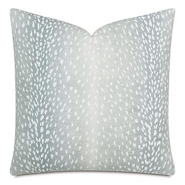 Wiley Ombre Decorative Pillow In Aqua