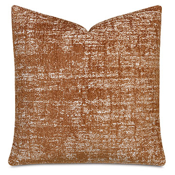 Briget Decorative Pillow In Rust