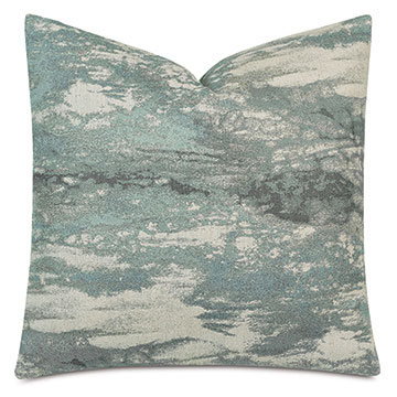 Fossil Decorative Pillow In Spa