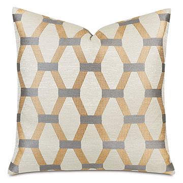 Paradigm Decorative Pillow In Gold