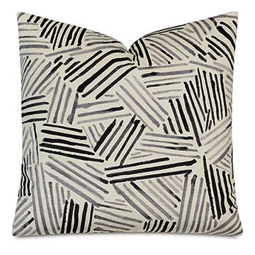Giacometti Brush Strokes Decorative Pillow