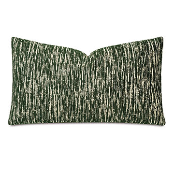 Carlton Woven Decorative Pillow In Forest