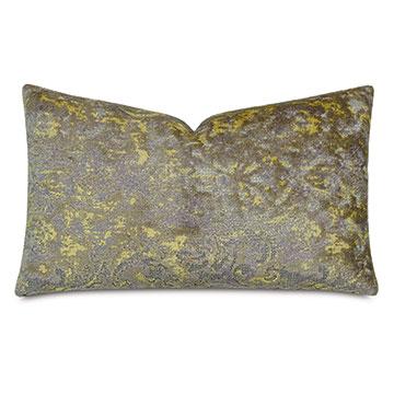 Byzantine Decorative Pillow In Amethyst