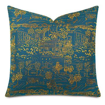 Chappey Toile Decorative Pillow
