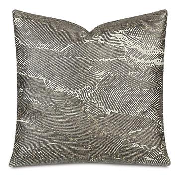 Kellner Metallic Decorative Pillow