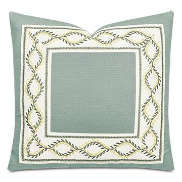 Mack Botanical Border Decorative Pillow