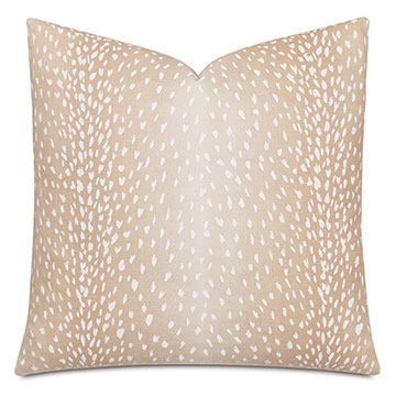 Wiley Ombre Decorative Pillow in Petal