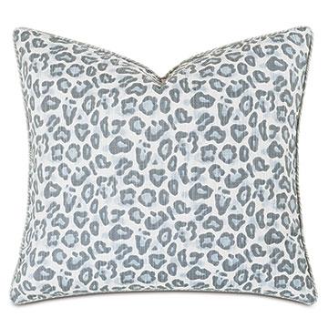 Liesl Leopard Print Decorative Pillow