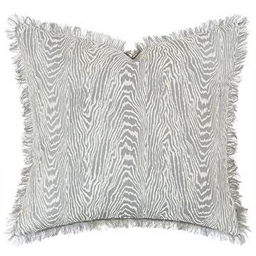 Liesl Faux Bois Decorative Pillow