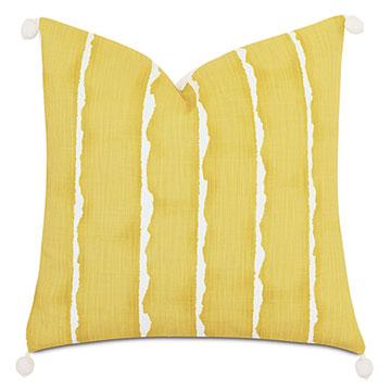 Meyer Ball Trim Decorative Pillow