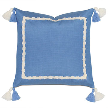 Everglades Double Tassel Decorative Pillow
