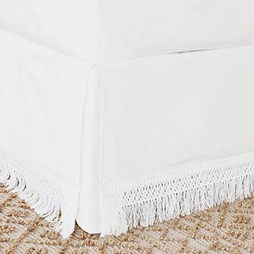 Meyer Boho Fringe Bed Skirt