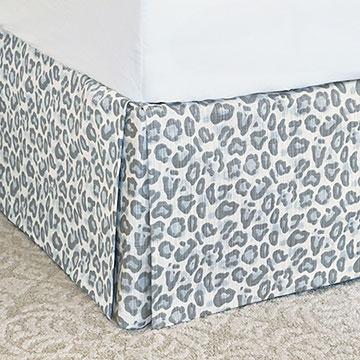 Liesl Leopard Print Bed Skirt