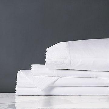 Abingdon White Sheet Set