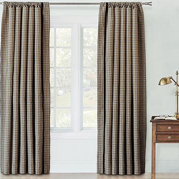 Garrett Stone Curtain Panel Left