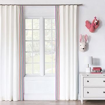 Gigi Ribbon Curtain Panel (Left)