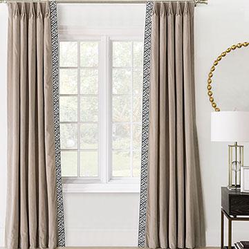 Maddox Velvet Curtain Panel Left