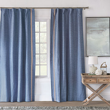 Paloma Woven Curtain Panel Right