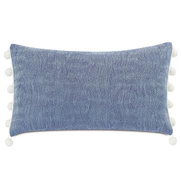 Castaway Ball Trim Decorative Pillow