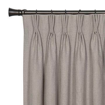 Leonara Natural Curtain Panel