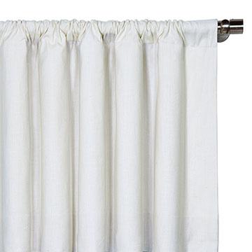Breeze White Curtain Panel